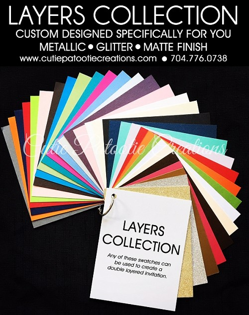 LAYERS COLLECTION - See Description for Details - CALL FOR PRICING