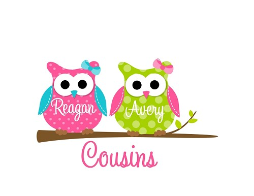 Personalized Owl T-Shirt or Bodysuit