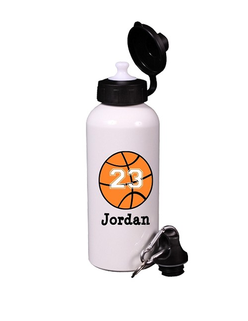 Personalized Basketball Water Bottle