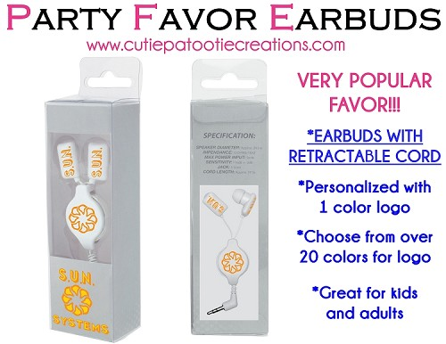 Headphones with Custom Box - Personalized with your Logo - Minimum  75