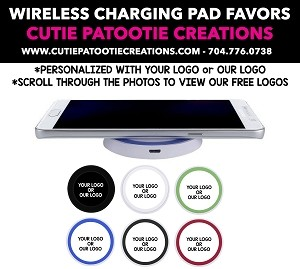 Wireless Phone Charging Pad Bar and Bat Mitzvah Party Favors